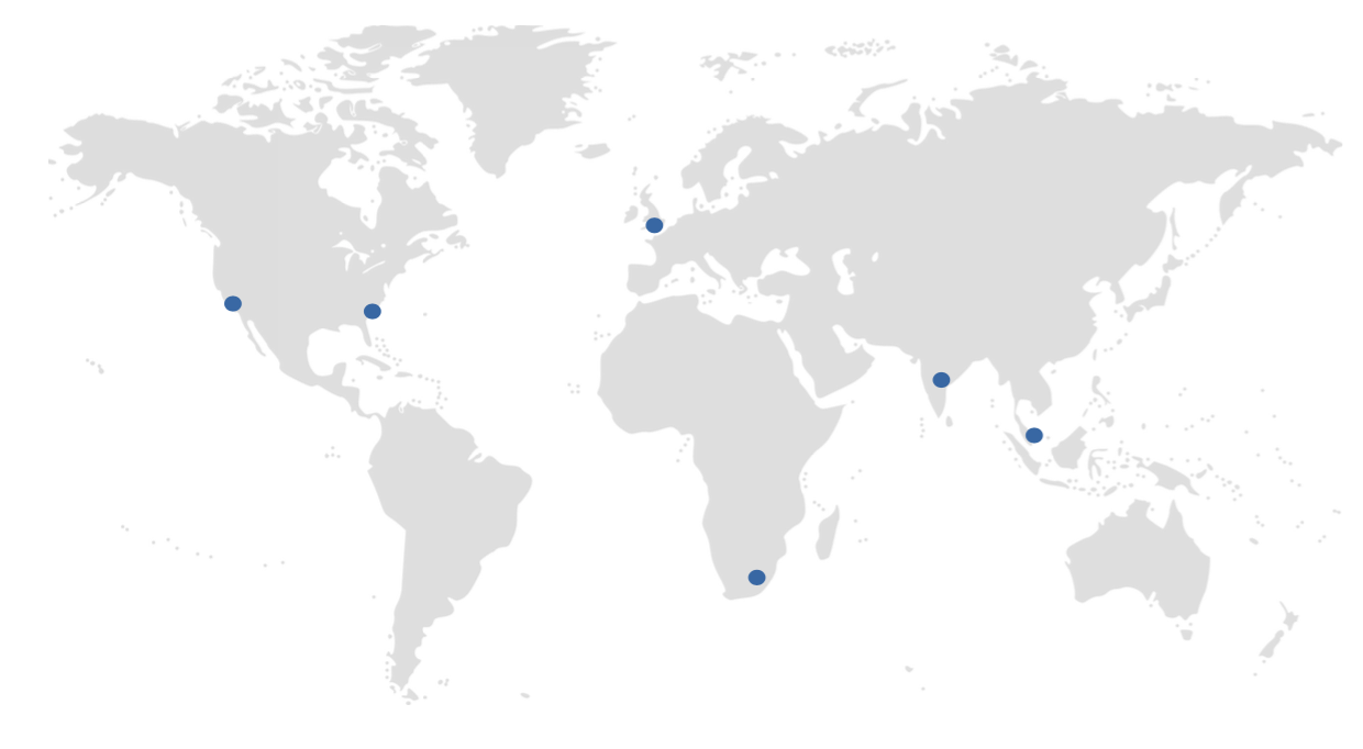 Duke CE Global Impact Map