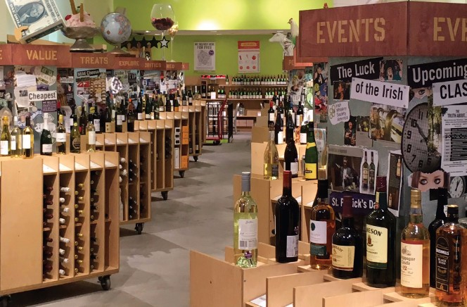 How wine stores exemplify the need for solution-driven innovation
