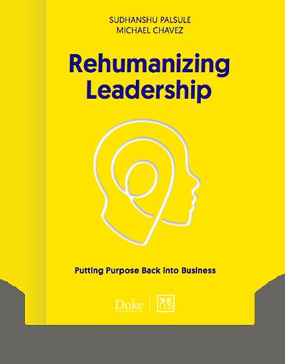 Rehumanizing Leadership Book