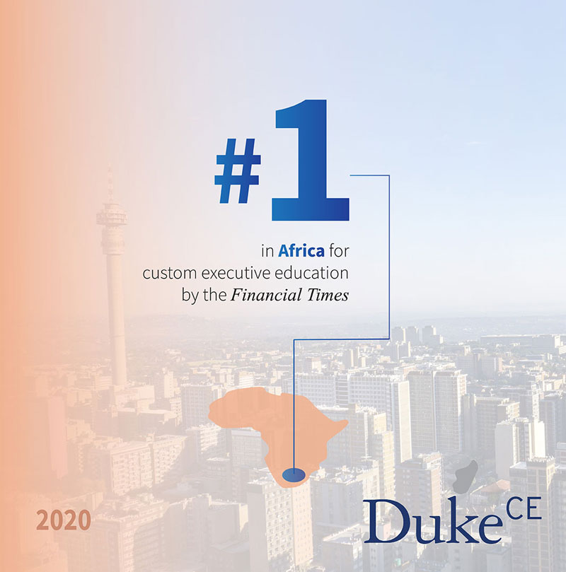 Ranked #1 in custom executive education by the Financial Times