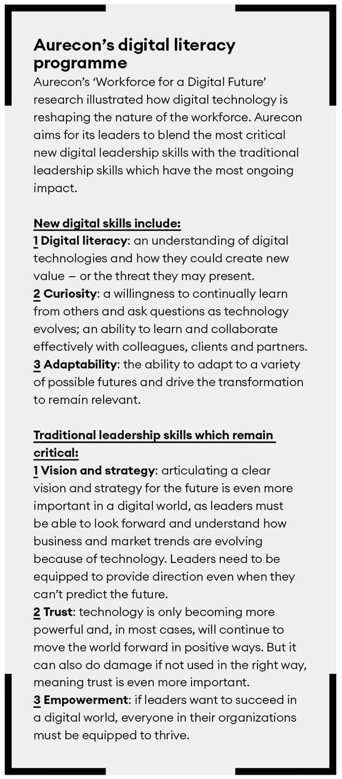 Aurecon's digital literacy program
