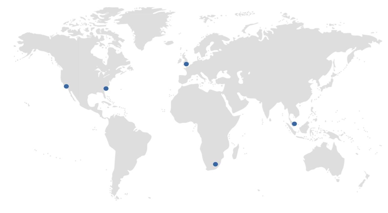 Duke CE Global Impact Map
